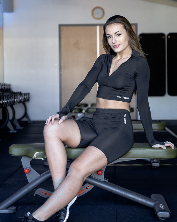 Dames Sport-Top glad