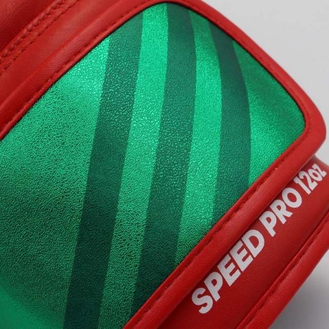 adidas Bokshandschoenen Speed Pro Rood/Groen/Wit