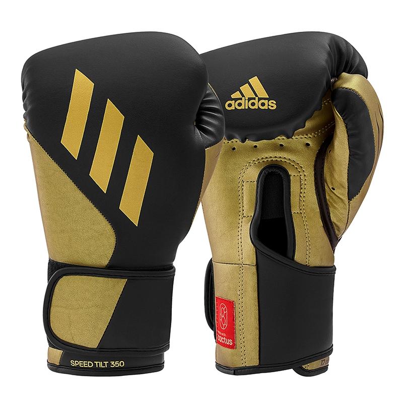 adidas (kick)Bokshandschoenen Speed TILT 350V Pro Training Zwart/Goud