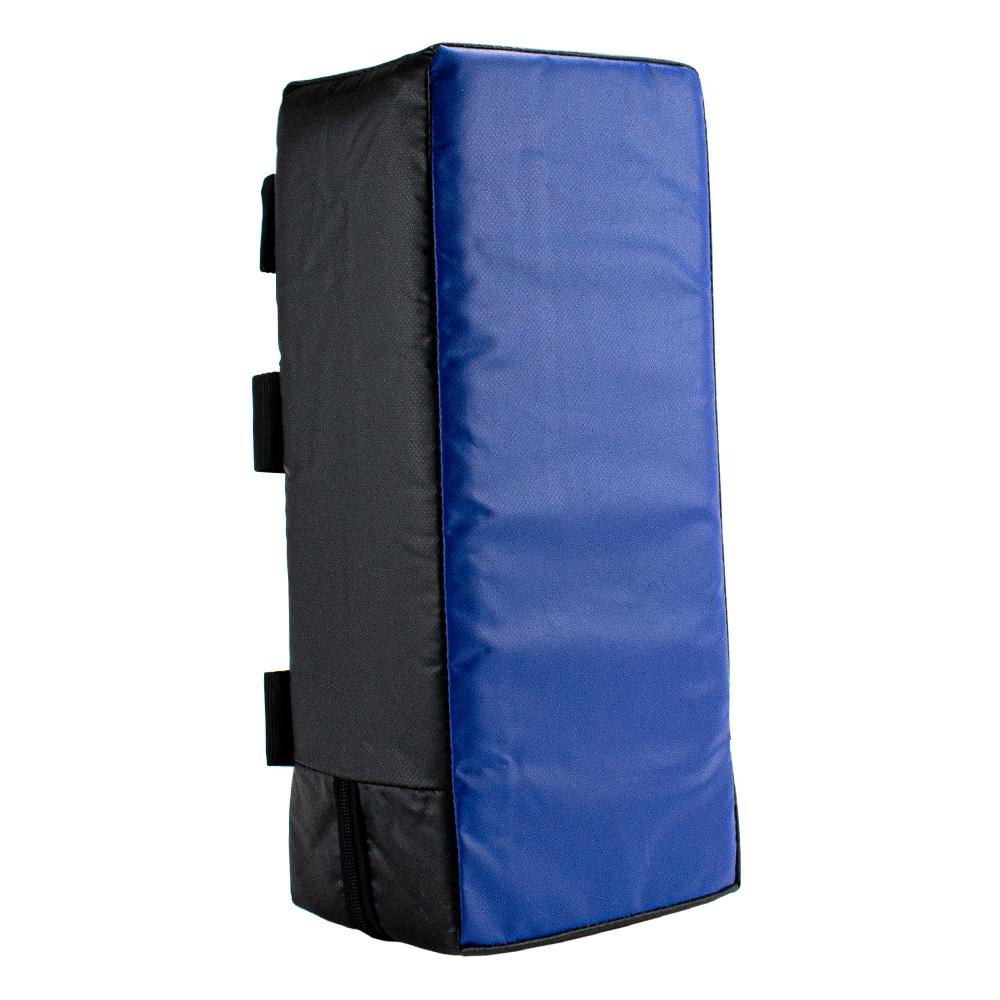 Armpad 45 x 20 x 15 zwart/blauw