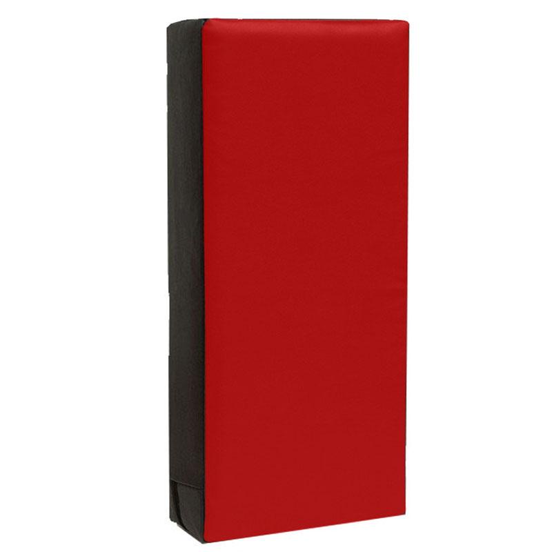 Trap/stootkussen groot 75 x 35 x 15 zwart/rood
