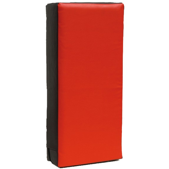 Stootkussen groot Luxury 75 x 35 x 15 zwart/rood