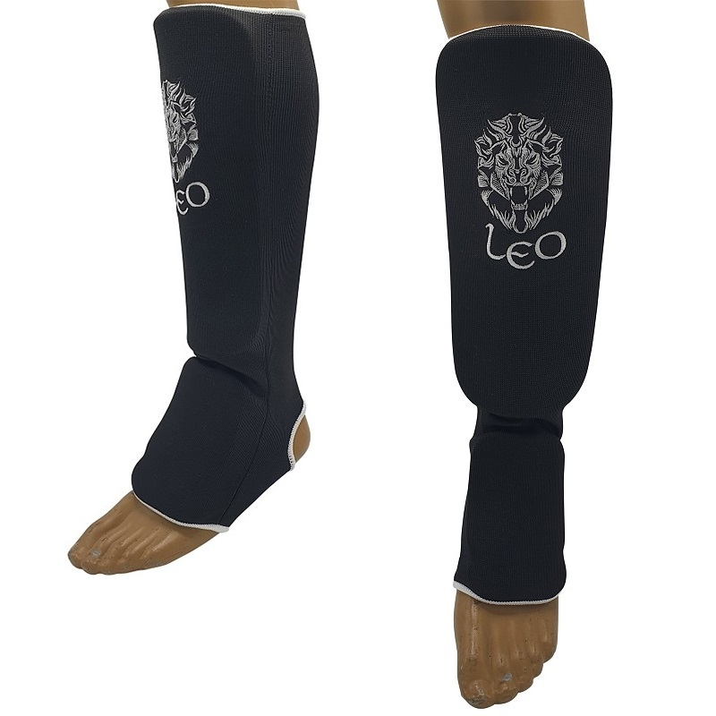 Leo Shin-n-step Elasticated Cotton Black