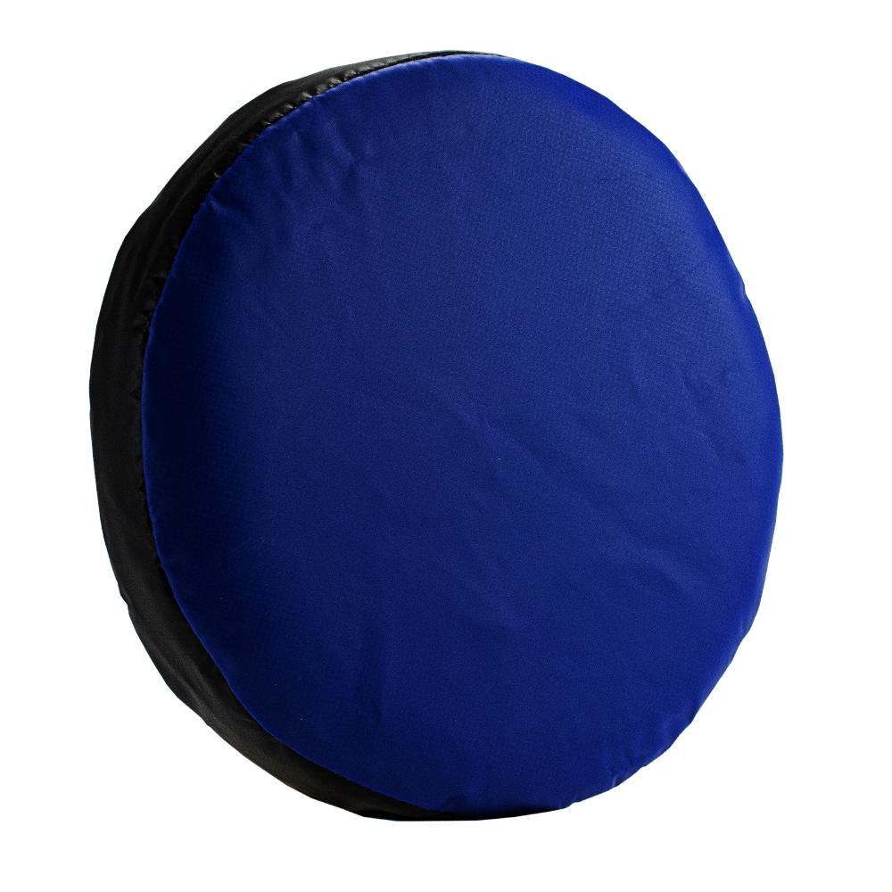 Handtarget/ handpad 7 x 27 rond Zwart/blauw