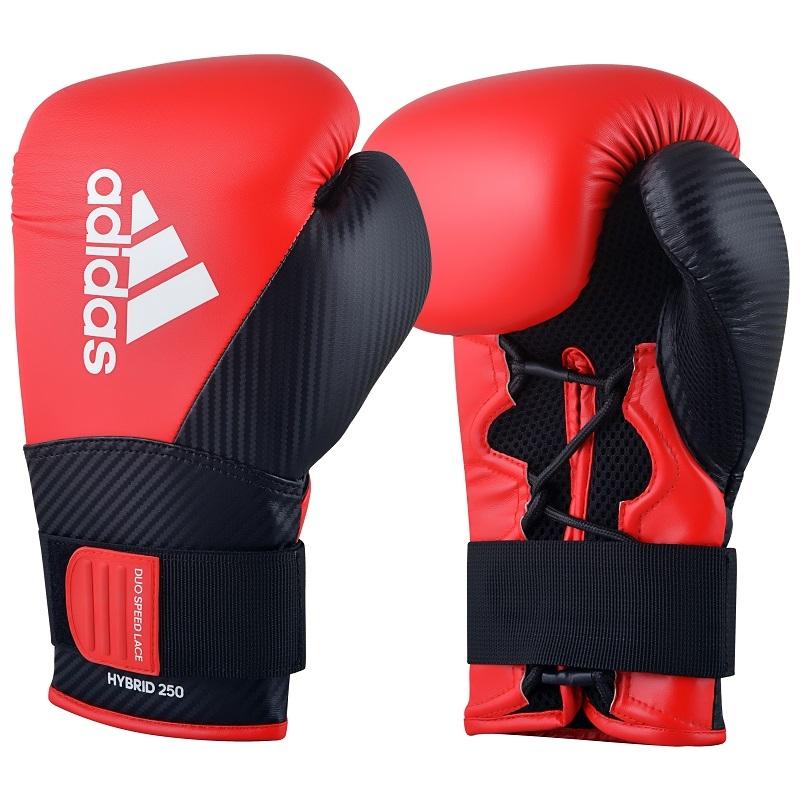 adidas (kick)Bokshandschoenen Hybrid 250 Training Rood/Zwart