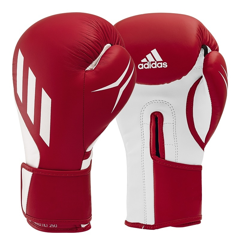 adidas (kick)Bokshandschoenen Speed TILT 250 Training Rood/Wit