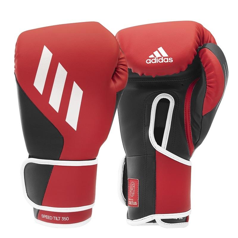 adidas (kick)Bokshandschoenen Speed TILT 350V Pro Training Rood/Zwart